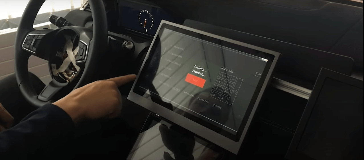 Contactless touchscreen by University of Cambridge
