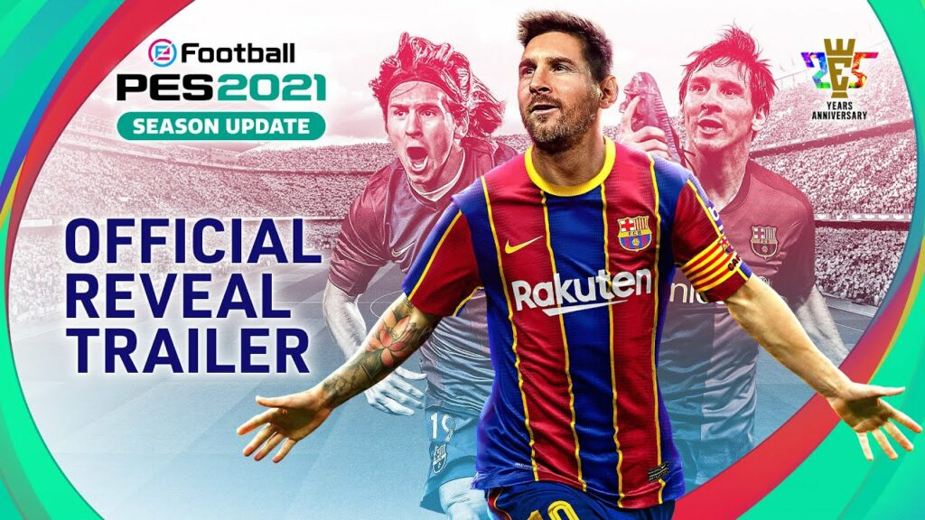 The first trailer of PES 2021