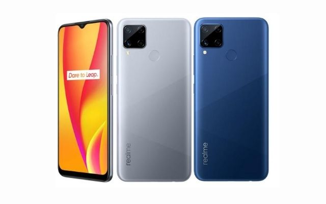 Realme C15 official with Helio G35 and 6000 mAh