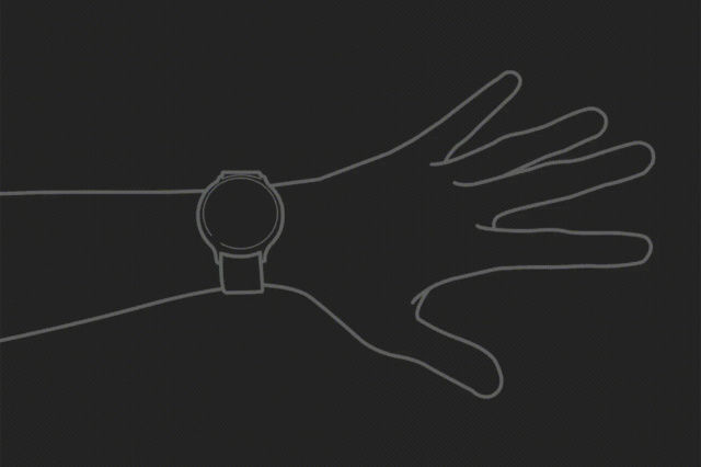 Samsung GalaxyWatch 3 was exposed to add hands-free gestures: you can answer with a fist